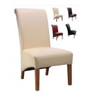 Hudson scroll chair cream