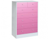 malibu 5+2 pink white