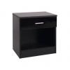 ottowa 1 drawer bedside black