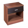 ottowa 1 drawer bedside black walnut