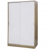 ottowa 2 door robe sliding white oak