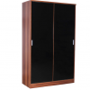 ottowa 2 door sliding robe black walnut