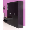 ottowa 3 door robe black