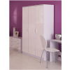ottowa 3 door wardrobe white