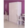 ottowa 3 door wardrobe white