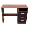 ottowa 3 drawer desk black walnut