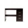 ottowa 3 drawer studt desk black