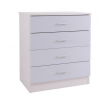 ottowa 4 drawer chest white