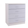 ottowa 4 drawer chest white