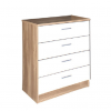 ottowa 4 drawer chest white oak
