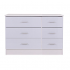 ottowa 6 drawer chest white