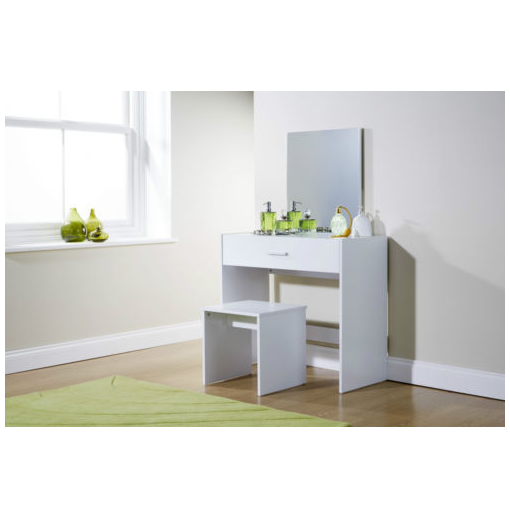 Modern White Dressing Table: Online 4 Discounts » Julia Contemporary Dressing Table