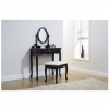 queen anne dresser black