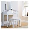 shaker dresser white