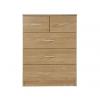 panama 4 piece oak chest