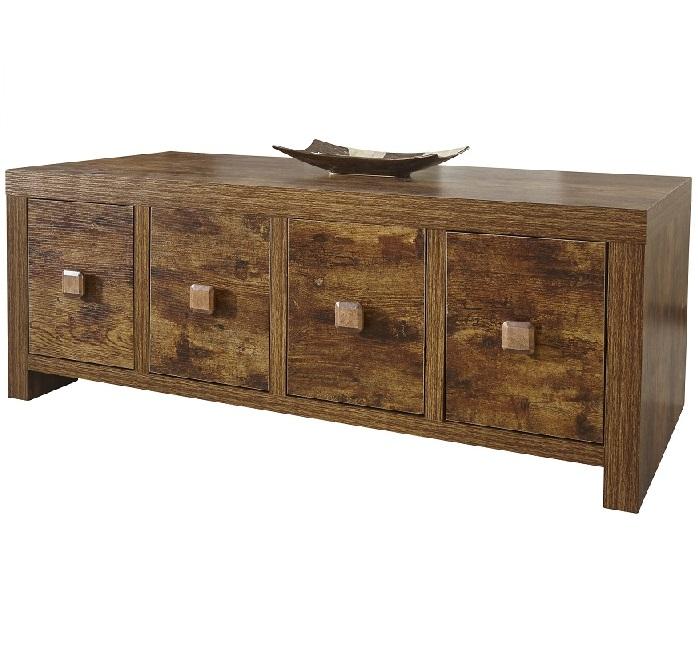 Online 4 discounts jakarta 8 drawer coffee table mango - Walnut effect living room furniture ...