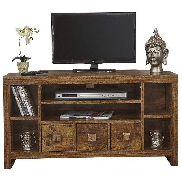 Online 4 discounts jakarta corner tv unit mango walnut - Walnut effect living room furniture ...