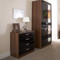Ottawa Black Gloss Walnut